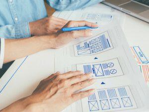 Diseño web en Valencia - Wireframes