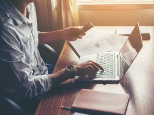 página web ayuda a minimizar pérdidas - teletrabajo