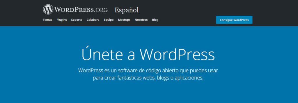 pagina web - wordpress