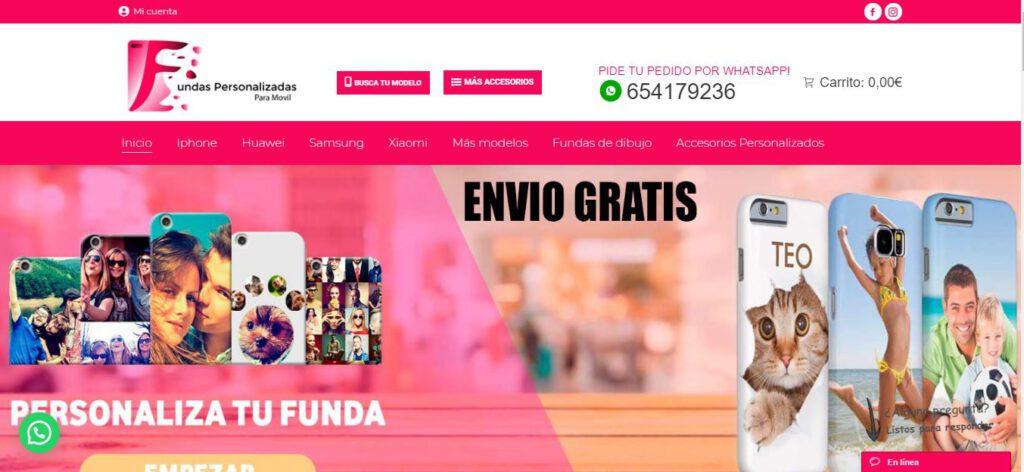 diseño web en valencia - fundas