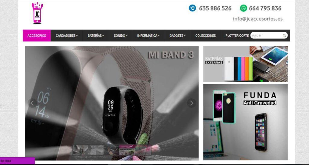 diseño web en valencia - jc