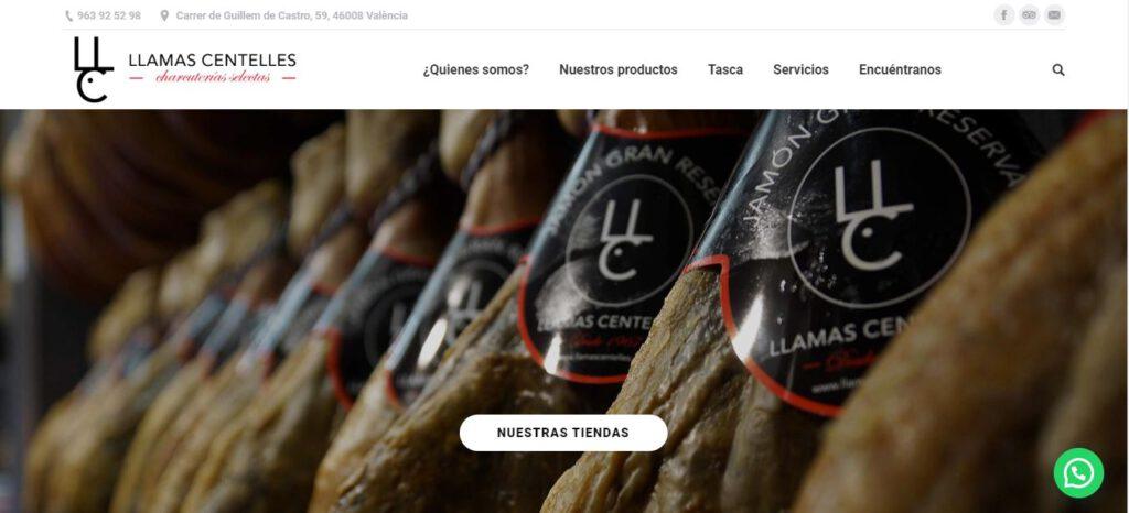 diseño web en valencia - llamas