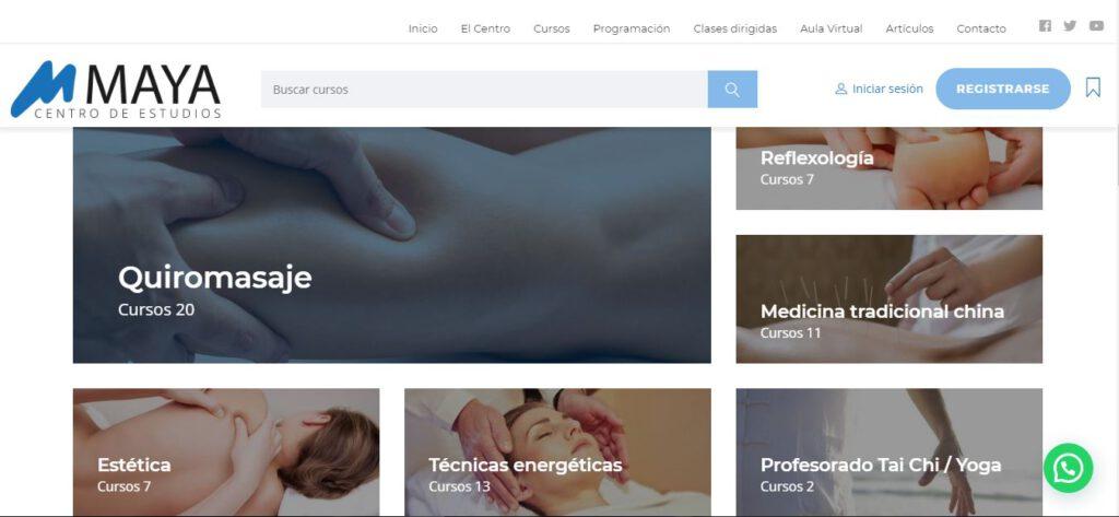 diseño web en valencia - maya